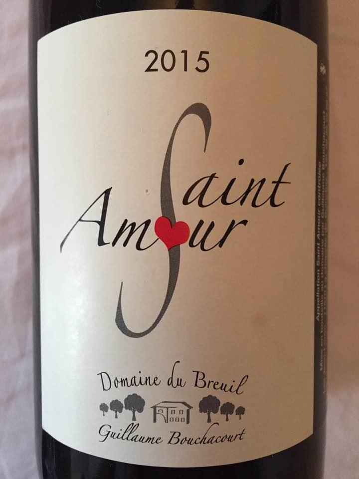 Domaine du Breuil 2015 – Saint-Amour