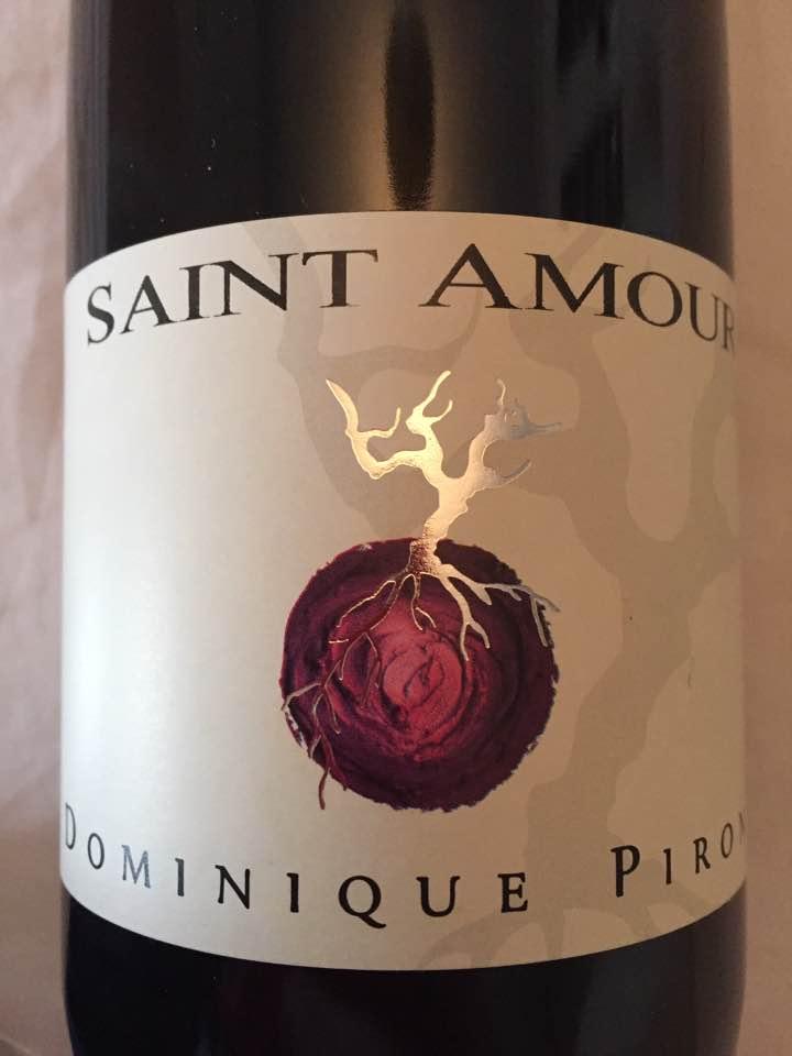 Dominique Piron 2015 – Saint-Amour
