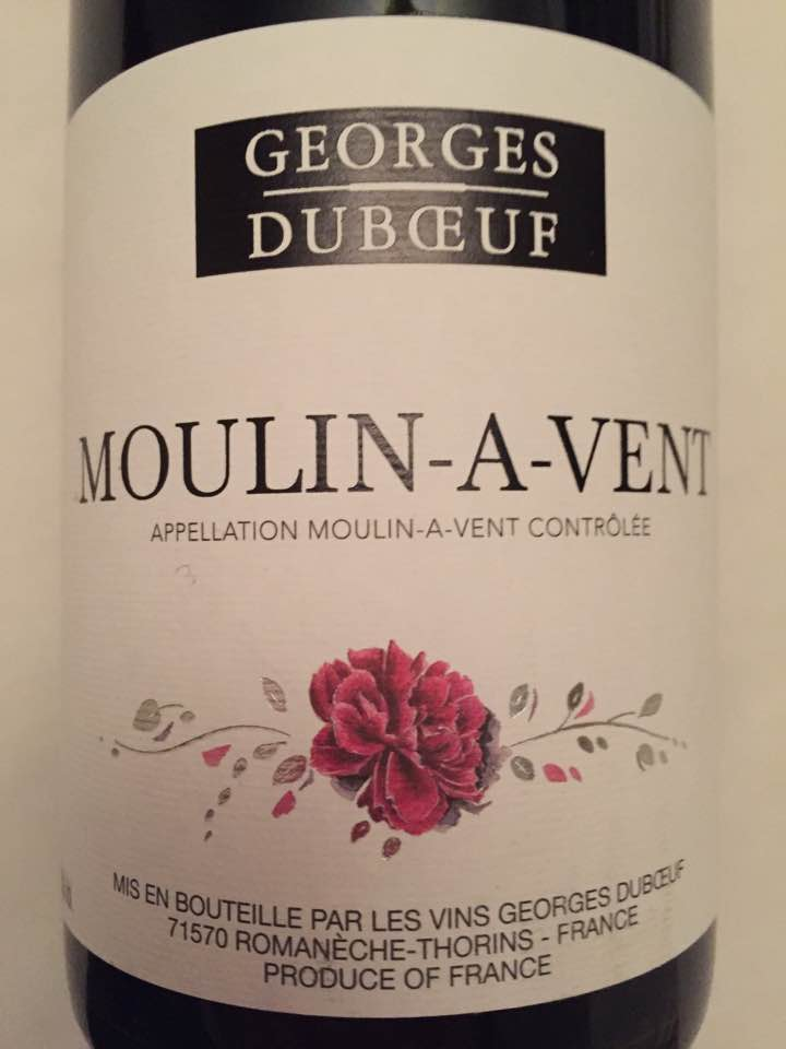 Georges Duboeuf 2015 – Moulin-à-Vent