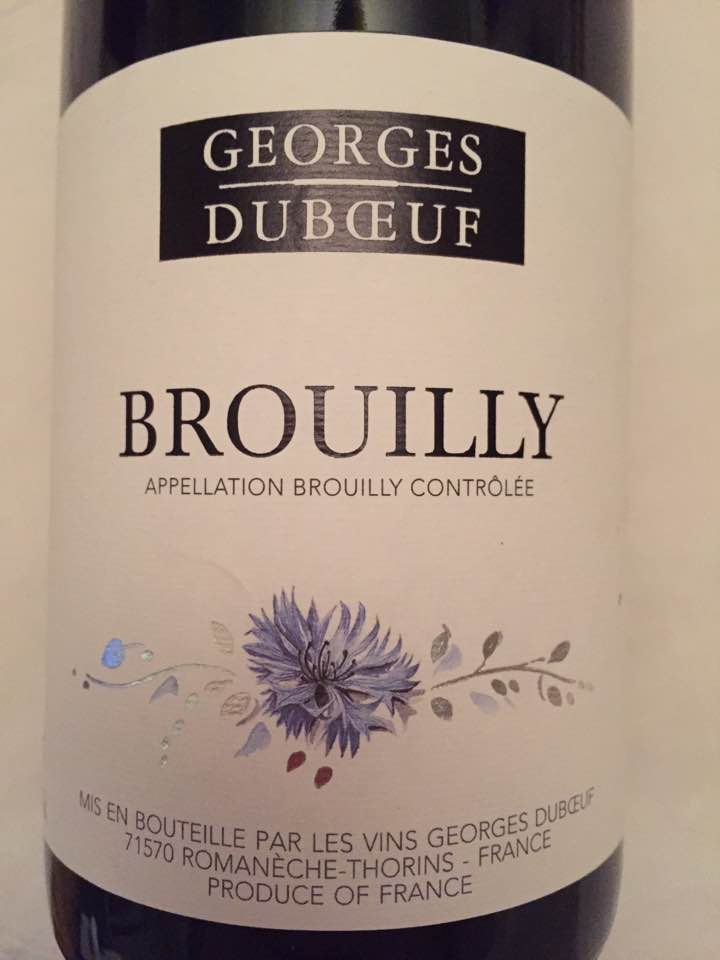 Georges Duboeuf 2015 – Brouilly