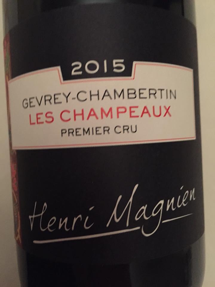 Henri Magnien – Les Champeaux 2015 – Gevrey-Chambertin – Premier Cru