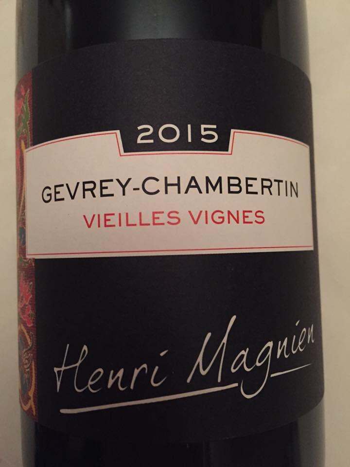 Henri Magnien – Vieilles Vignes 2015 – Gevrey-Chambertin