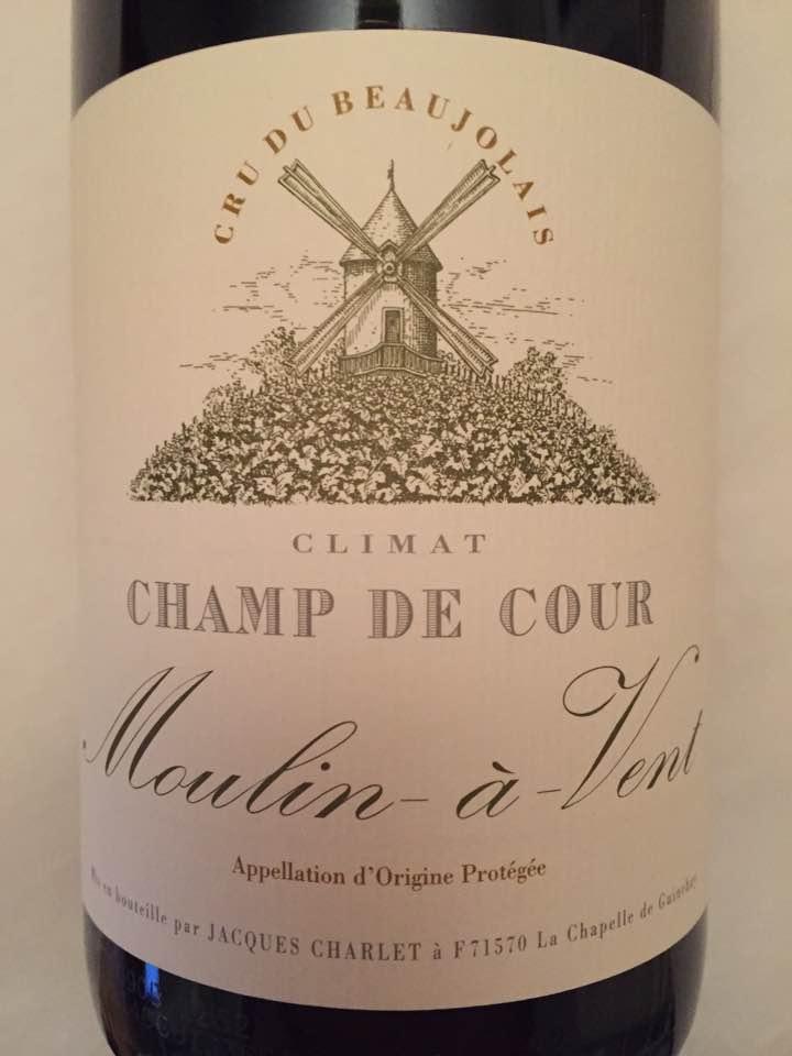 Jacques Charlet – Climat Champ de Cour 2014 – Moulin-à-Vent