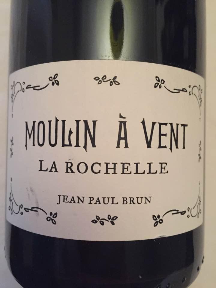 Jean-Paul Brun – La Rochelle 2015 – Moulin-à-Vent