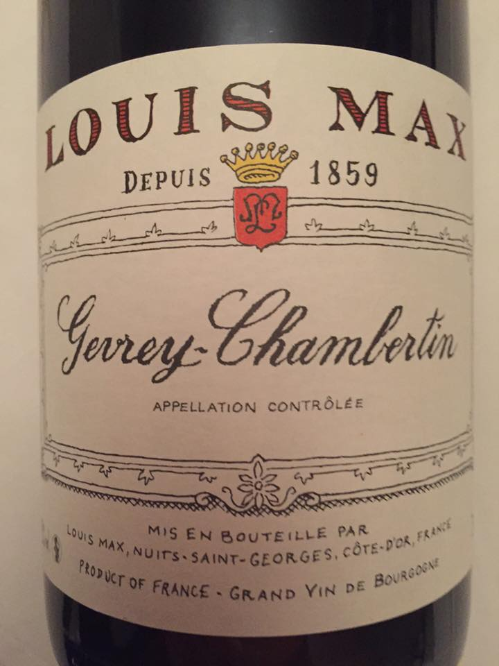 Louis Max 2014 – Gevrey-Chambertin
