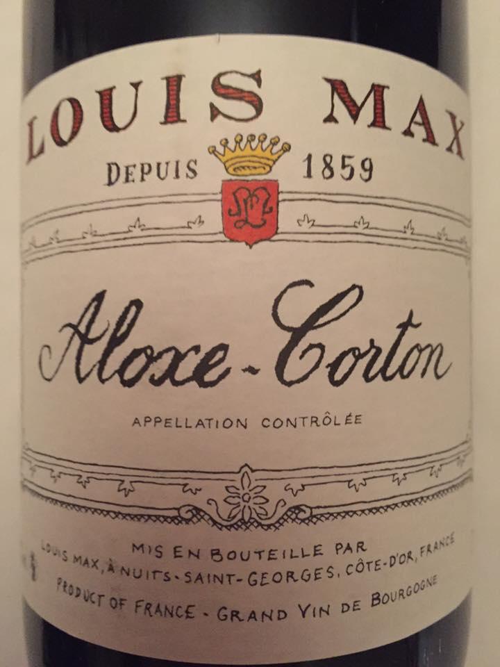 Louis Max 2015 – Aloxe-Corton