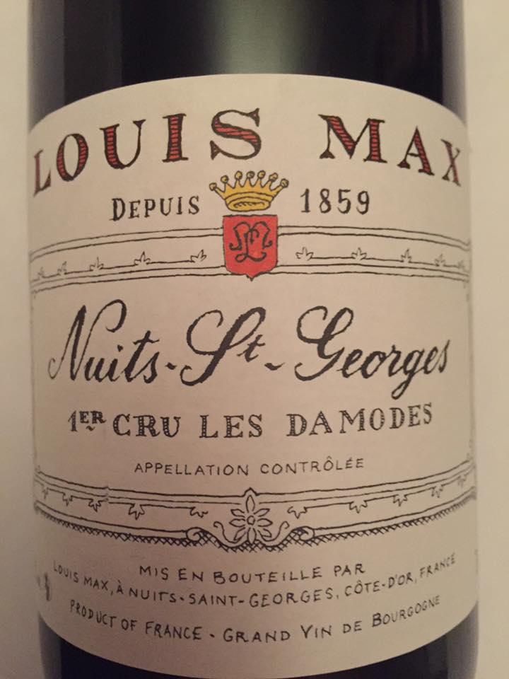 Louis Max – Les Damodes 2014 – Nuits-Saint-Georges – Premier Cru