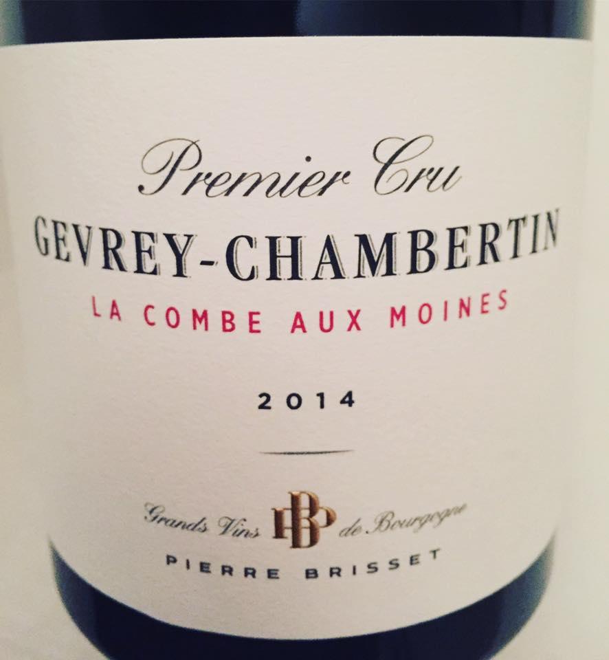 Pierre Brisset – La Combes aux moines 2014 – Gevrey-Chambertin – Premier Cru