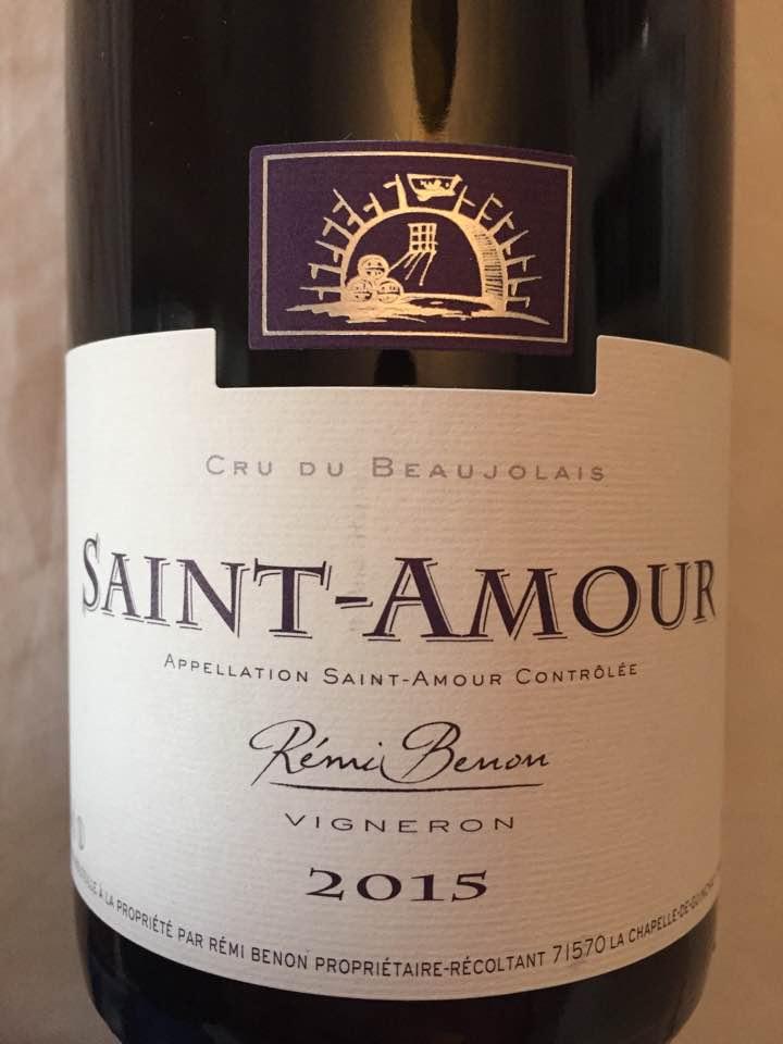 Rémi Benon 2015 – Saint-Amour