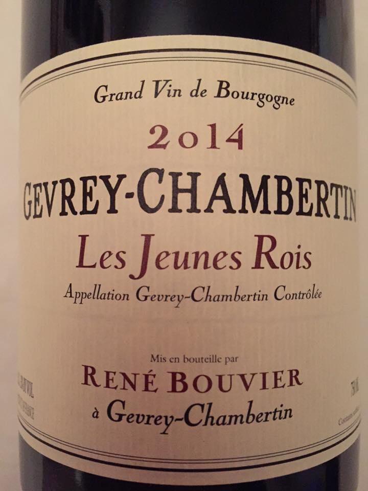 René Bouvier 2014 – Les Jeunes Rois 2014 – Gevrey-Chambertin