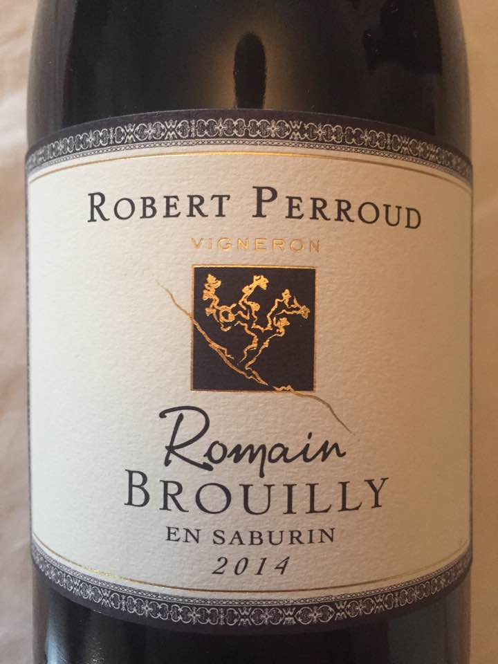 Robert Perroud – En Saburin 2014 – Romain – Brouilly