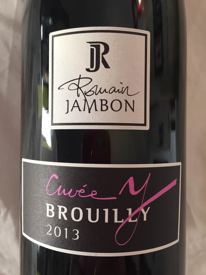 Romain Jambon – Cuvée Y 2013 – Brouilly