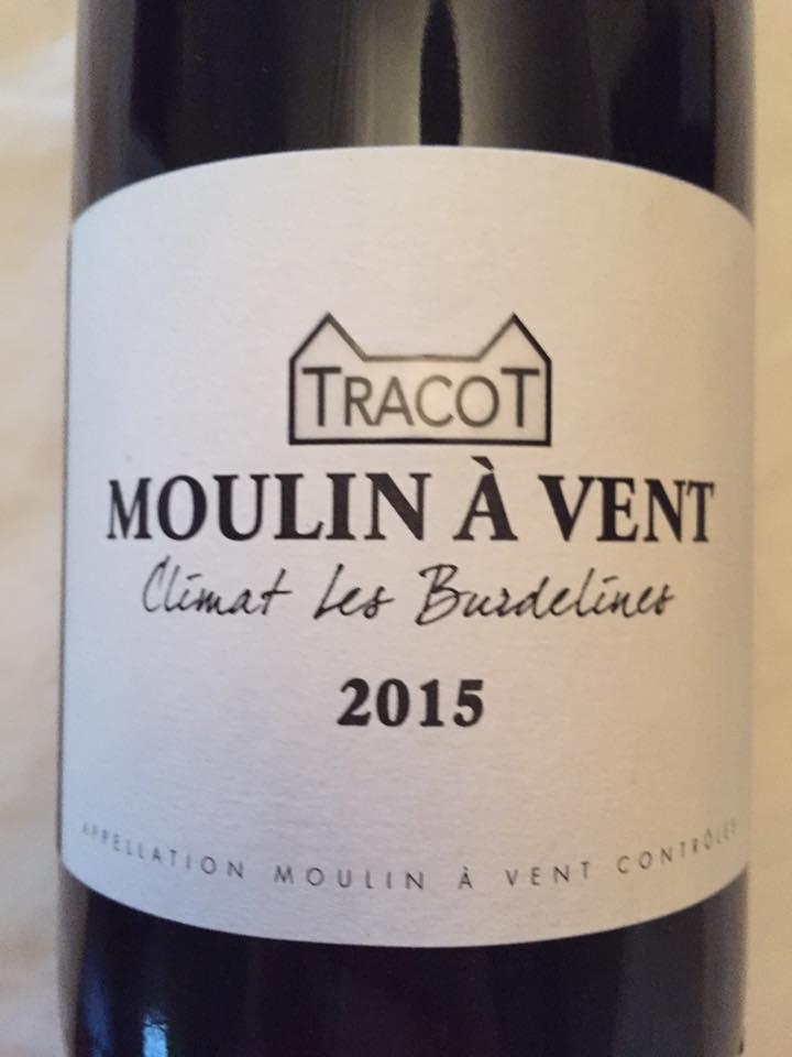 Domaine Dubost – Tracot – Climat Les Burdelines 2015 – Moulin-à-Vent