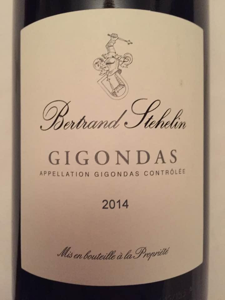 Bertrand Stehelin – 2014 – Gigondas