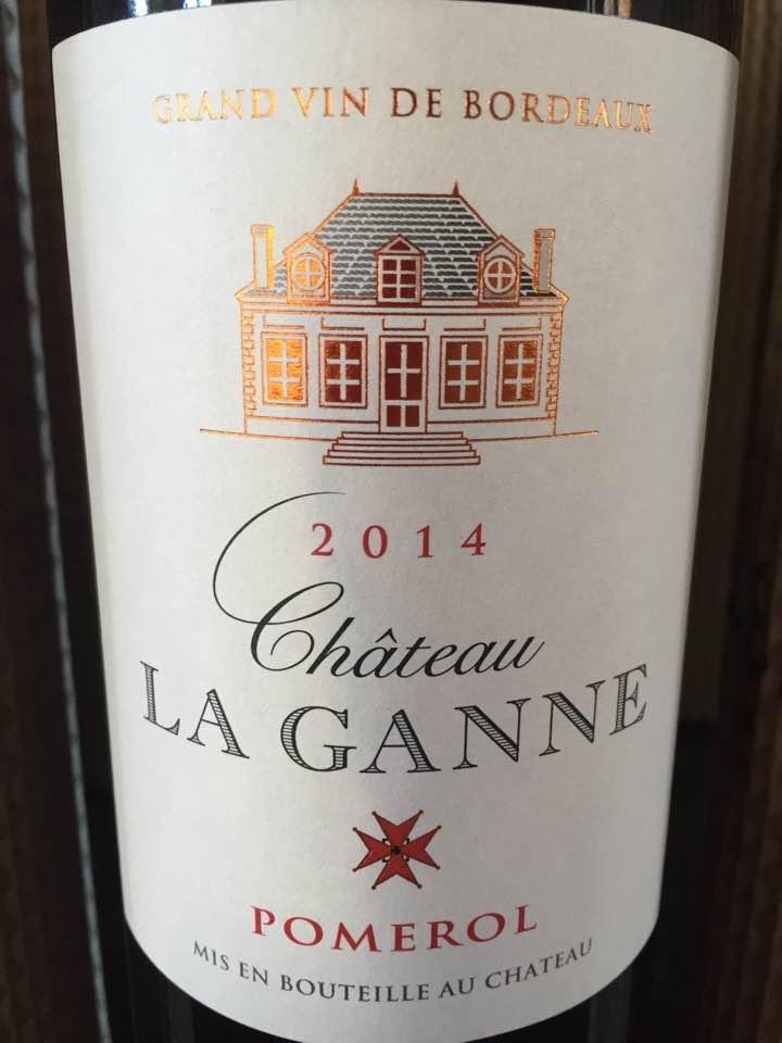 Château La Ganne 2014 – Pomerol