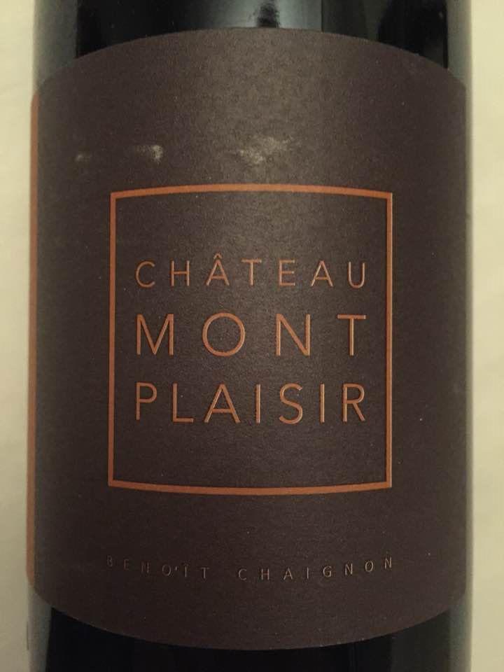 Château Montplaisir – Expressions 2015 – Vinsobres