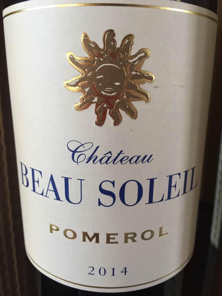 Château Beau Soleil 2014 – Pomerol