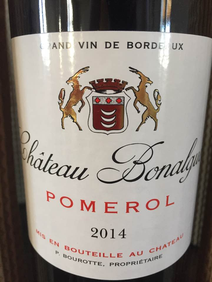 Château Bonalgue 2014 – Pomerol
