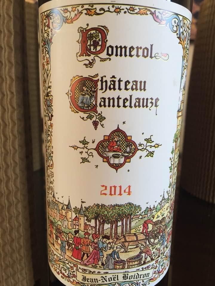 Château Cantelauze 2014 – Pomerol