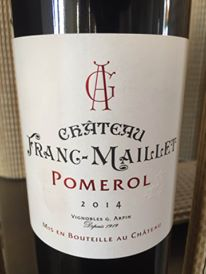 Château Franc-Maillet 2014 – Pomerol