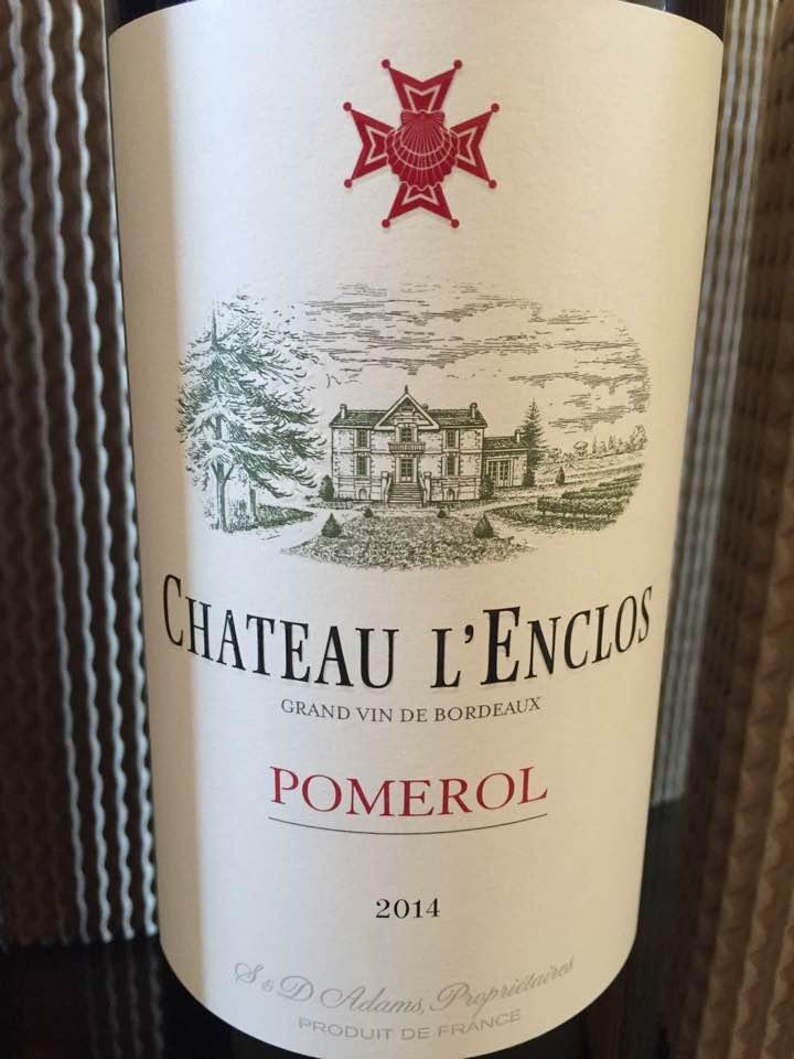 Château L'Enclos 2014 – Pomerol