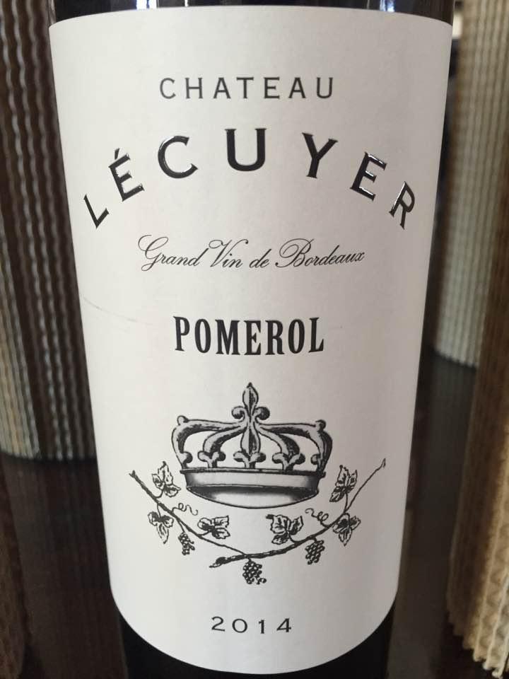 Château Lecuyer 2014 – Pomerol