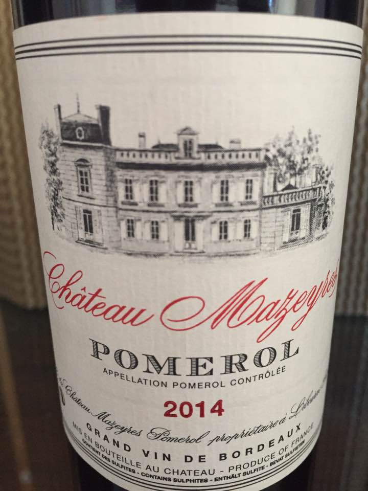 Château Mazeyres 2014 – Pomerol