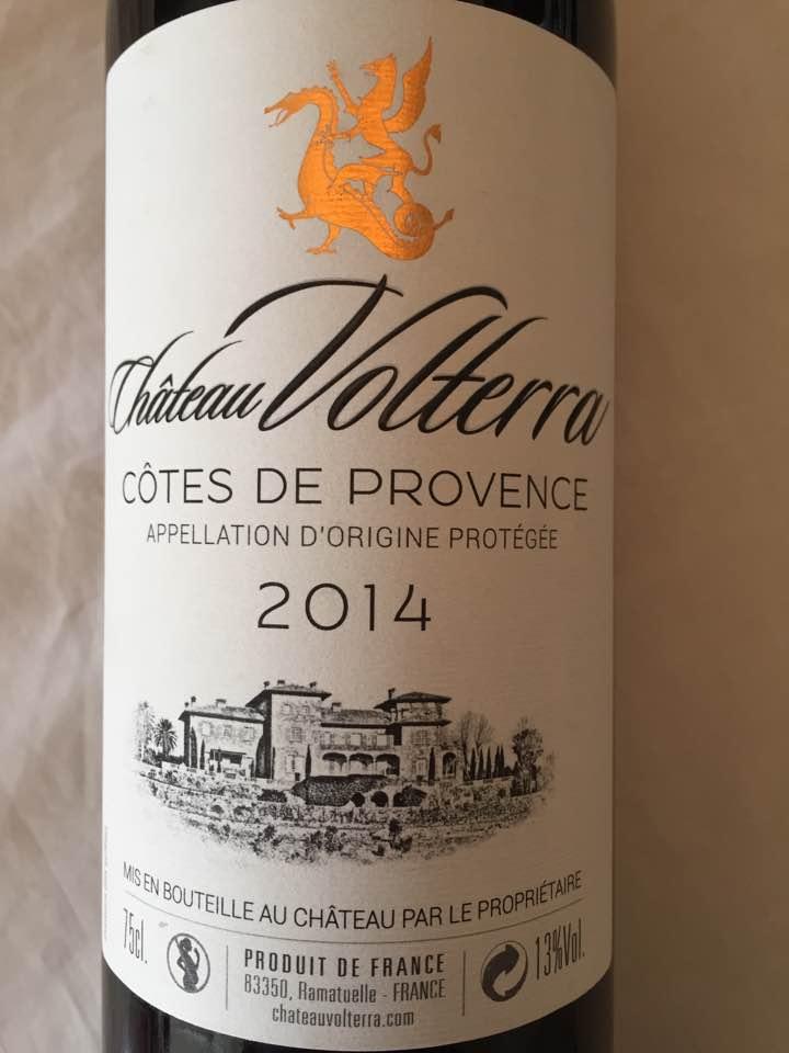 Château Volterra 2014 – Côtes de Provence