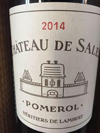Château de Sales 2014 – Pomerol