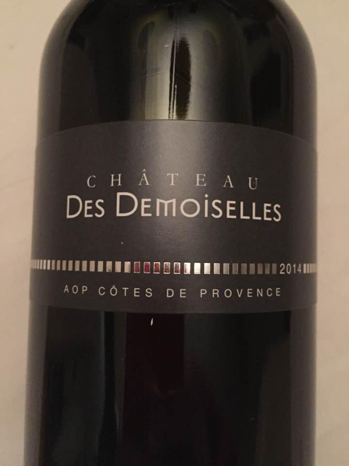 Château des Demoiselles 2014 – Côtes de Provence