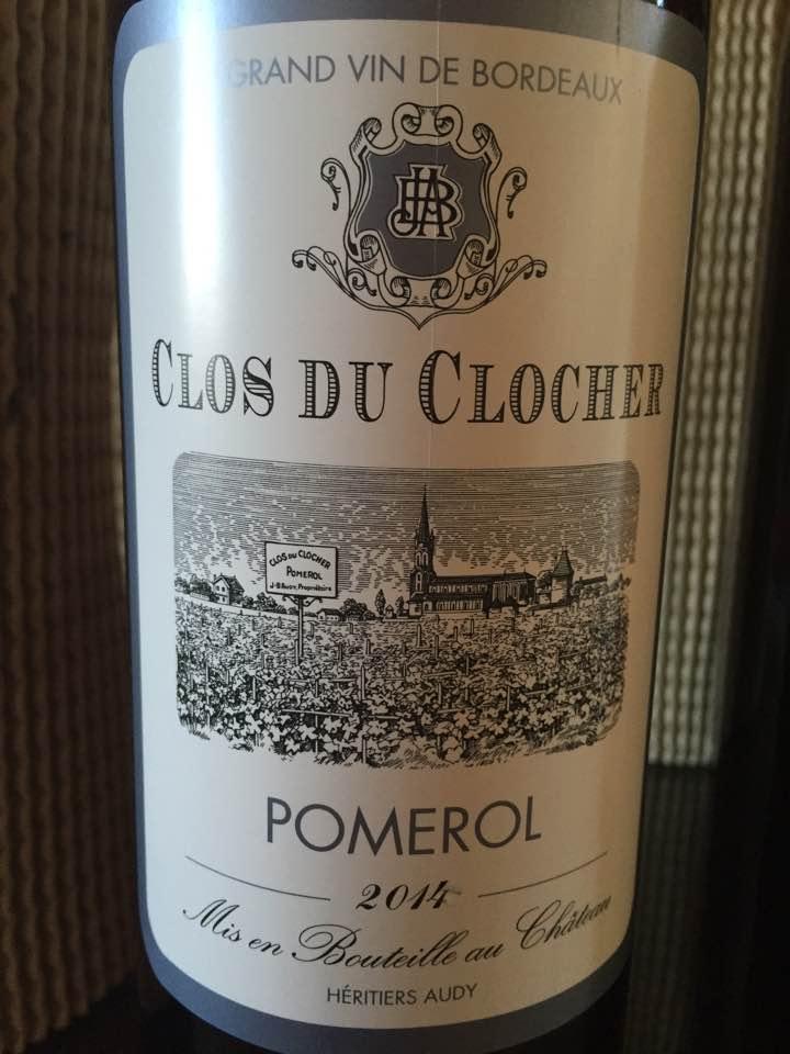 Clos du Clocher 2014 – Pomerol
