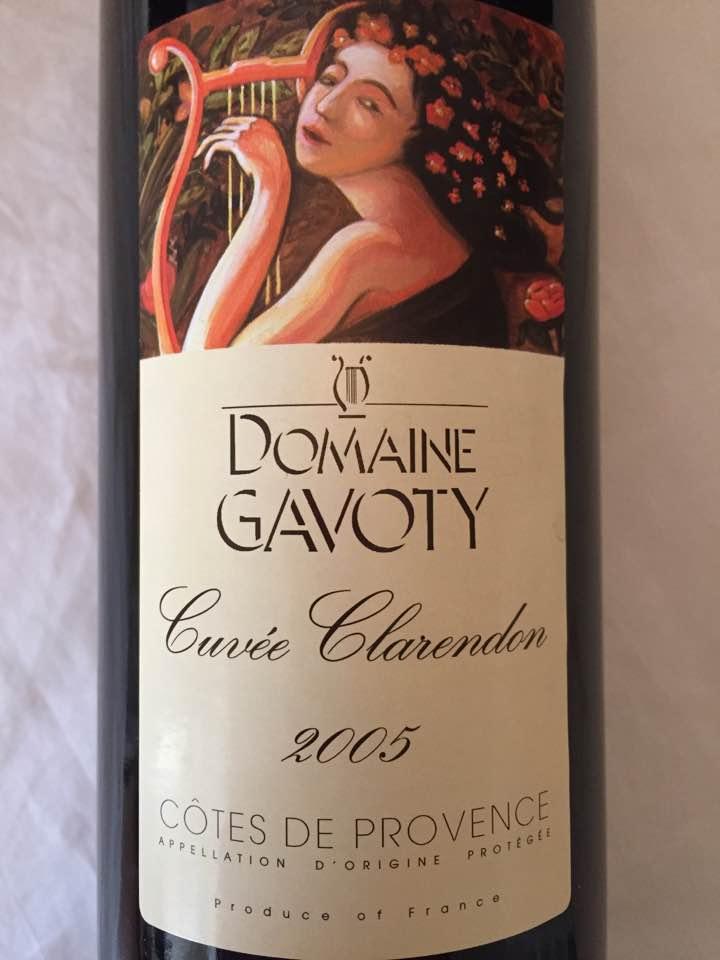 Domaine Gavoty – Cuvée Clarendon 2005 – Côtes de Provence