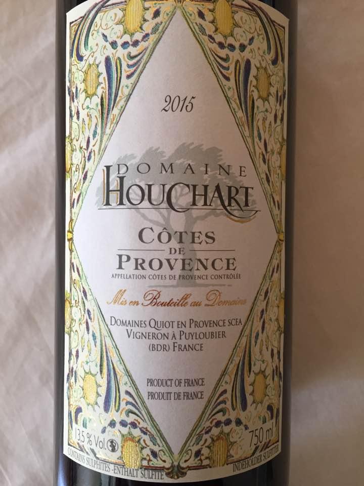 Domaine Houchart 2015 – Côtes de Provence