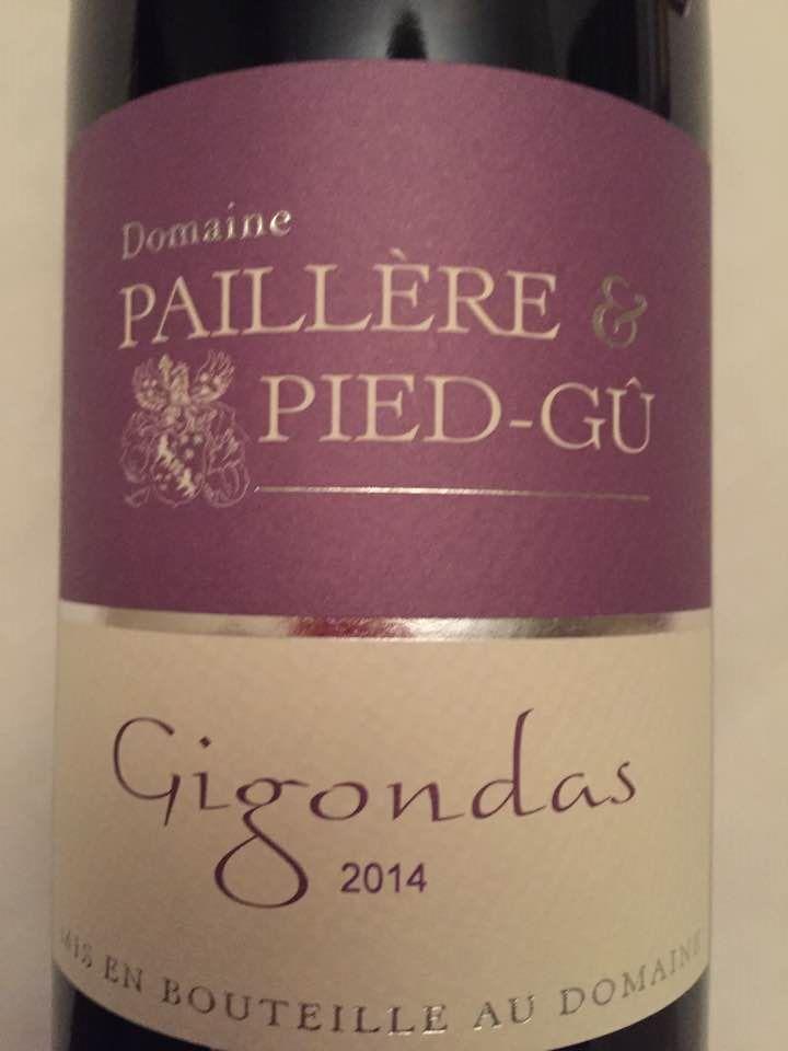 Domaine Paillère & Pied-Gû 2014 – Gigondas