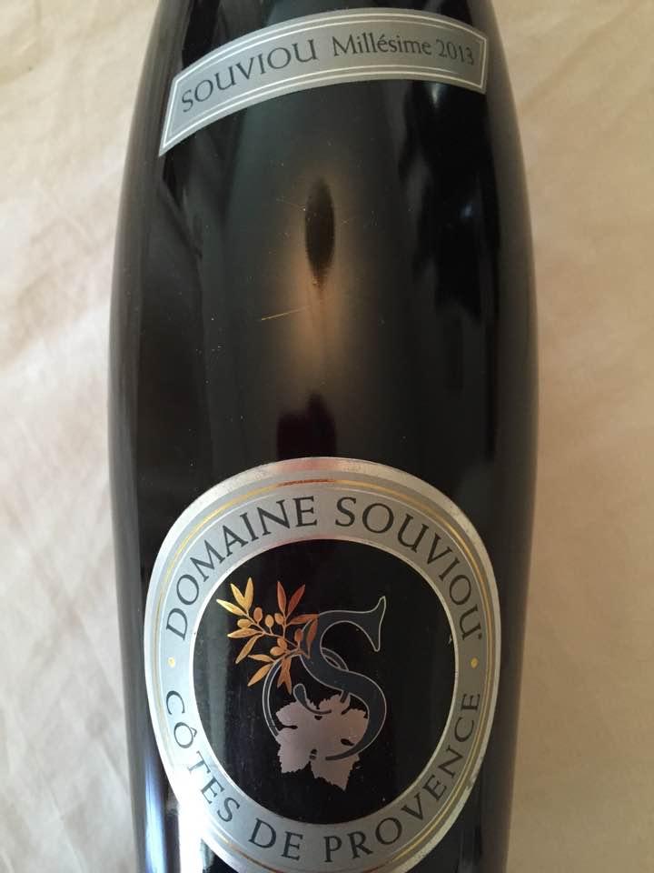 Domaine Souviou – Souviou 2013 – Côtes de Provence