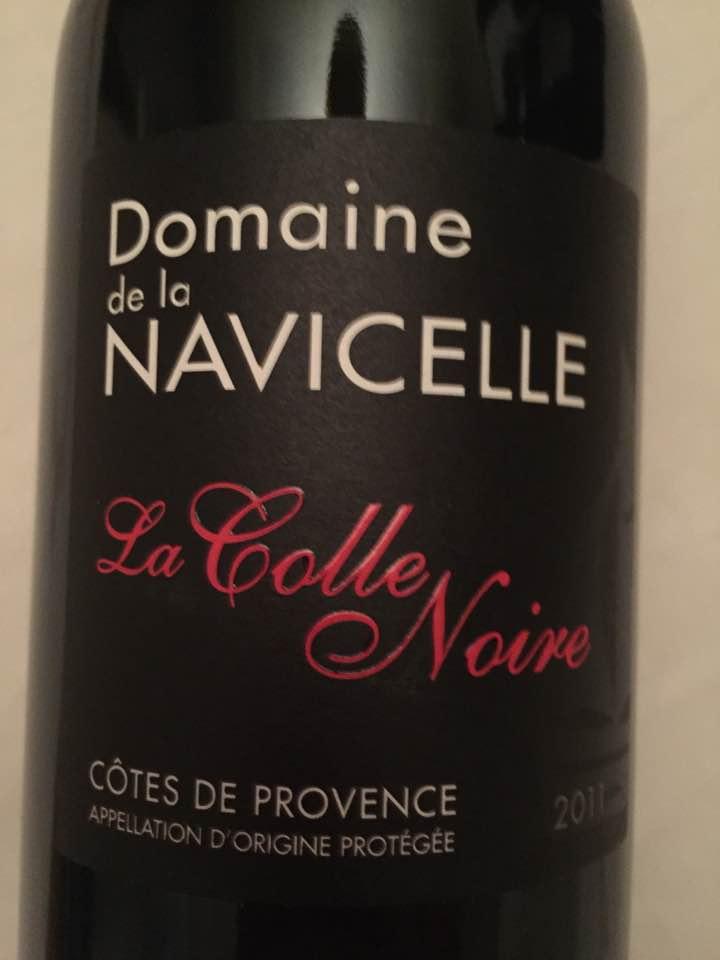 Domaine de la Navicelle – La Colle Noire 2011 – Côtes de Provence
