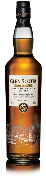 Glen Scotia – Double Cask – Single Malt Scotch Whisky – Classic Campbeltown Malt