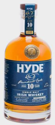 Hyde – N°1 Presidents Cask – Aged 10 years – Single Malt Irish Whiskey