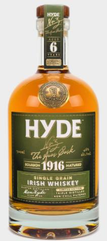 Hyde – N°3 The Aras Cask – Bourbon 1916 Matured – Single Grain Irish Whiskey