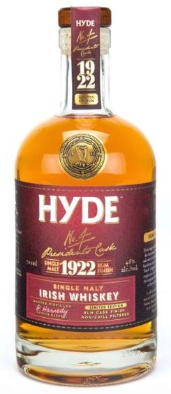 Hyde – N°4 Presidents Cask – Rum 1922 Finish – Single Malt Irish Whiskey
