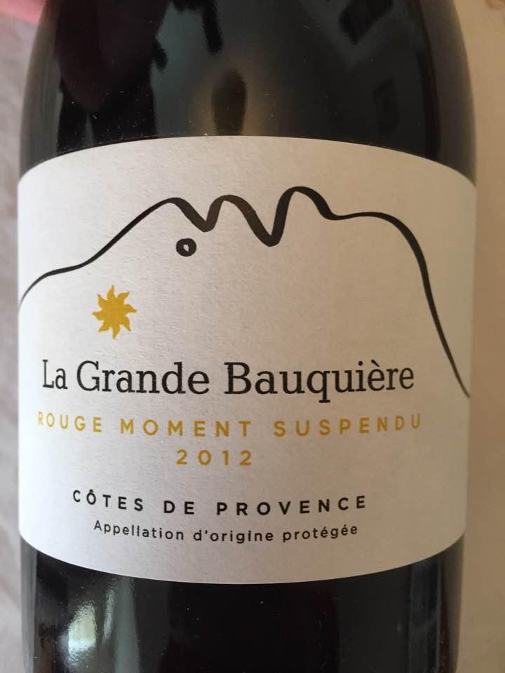 La Grande Bauquière – Rouge Moment Suspendu 2012 – Côtes de Provence