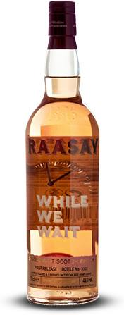 Raasay – While We Wait – Single Grain Scotch Whisky