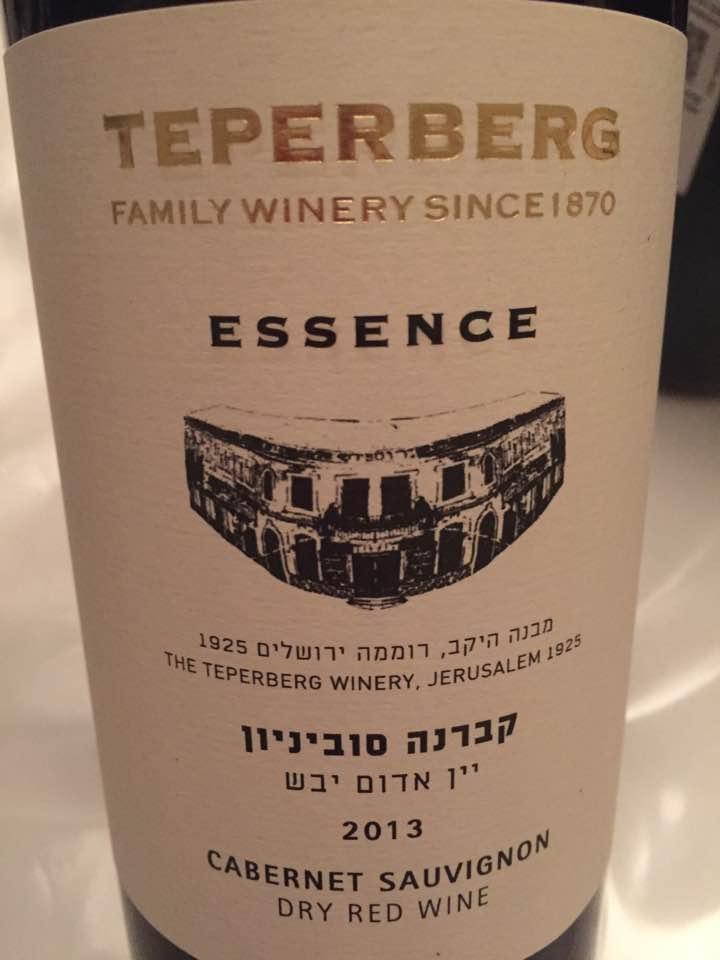 Teperberg – Cabernet Sauvignon 2013 – Essence – Israël