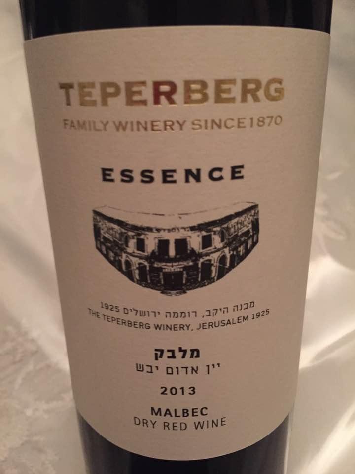 Teperberg – Malbec 2013 – Essence – Israël