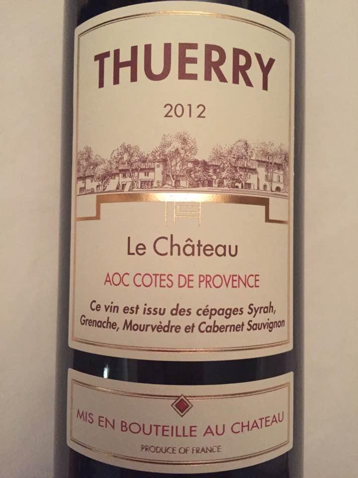 Thuerry – Le Château 2012 – Côtes de Provence