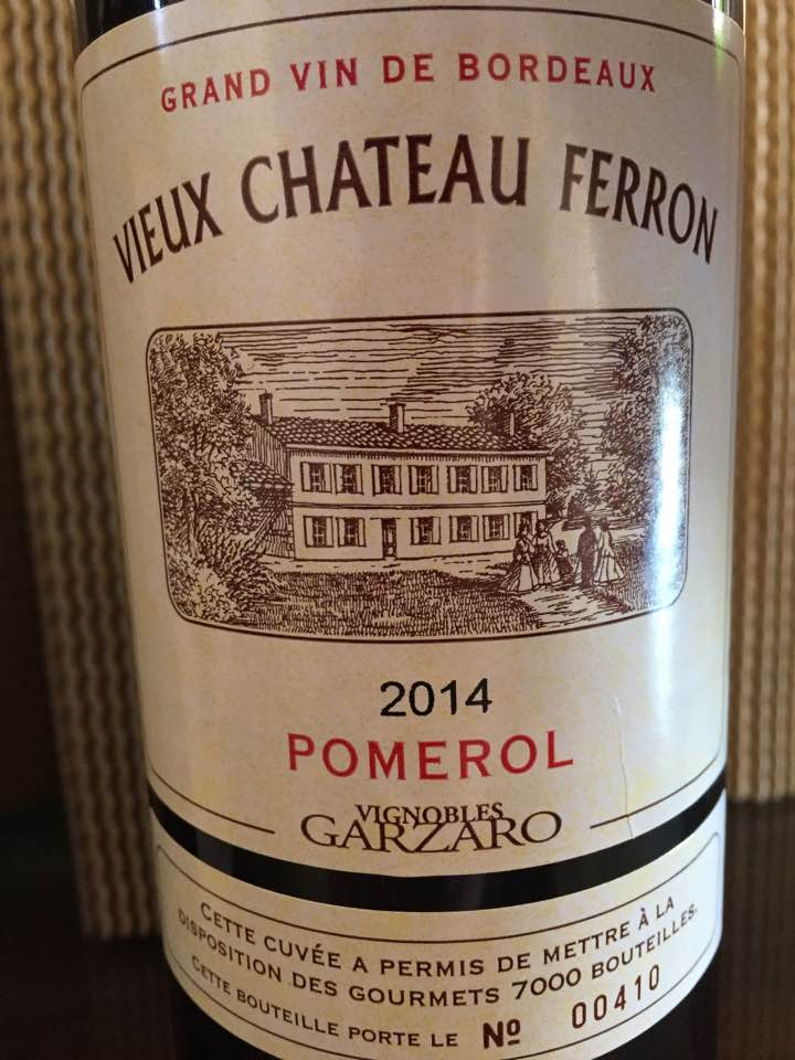 Vieux Château Ferron 2014 – Pomerol