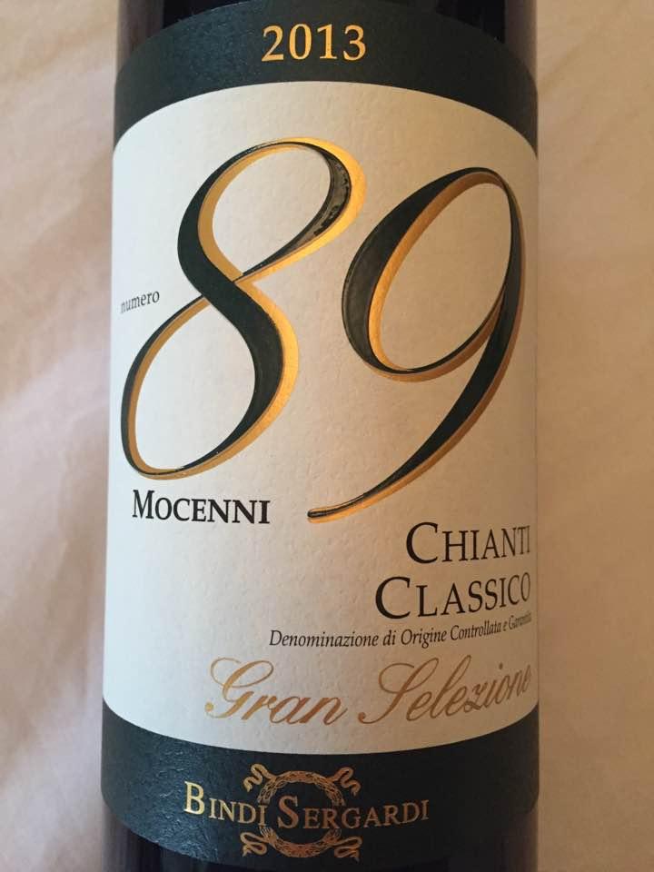 Bindi Sergardi – Numero 89 Mocenni 2013 – Chianti Classico Gran Selezione