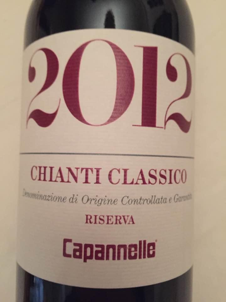 Capannelle 2012 – Chianti Classico Riserva