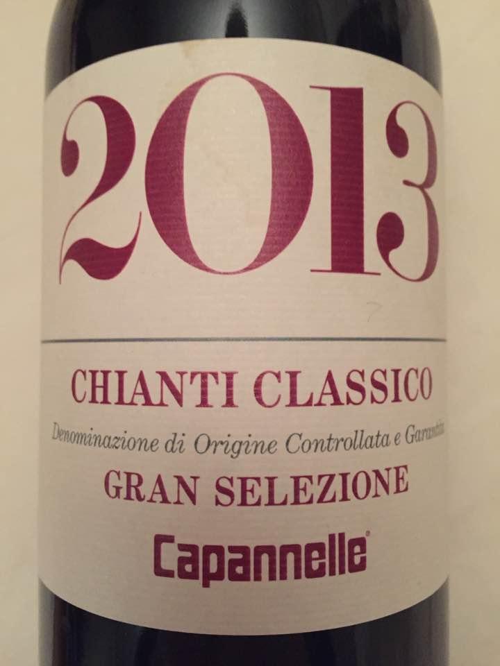 Capanelle 2013 – Chianti Classico Gran Selezione