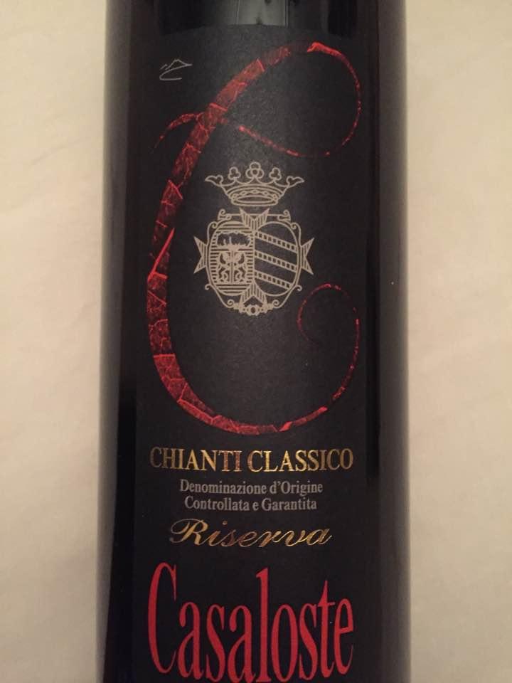 Casaloste 2011 – Chianti Classico Riserva